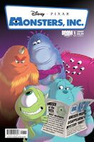 MonstersInc LaughFactory Issue 1A