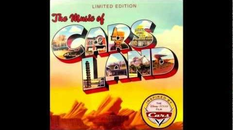 """The Music of Cars Land """"Mater's Square Dance"""" (Larry The Cable Guy)"""