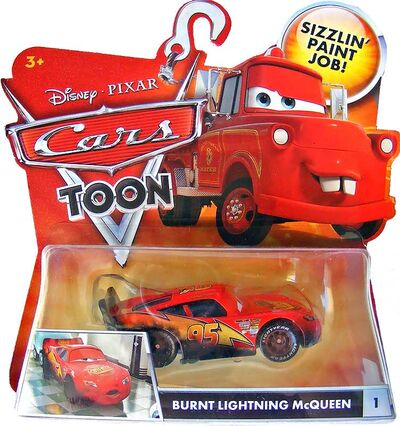 Burnt lightning mcqueen cars toon single.jpg