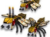 Cyber Bees Swarm