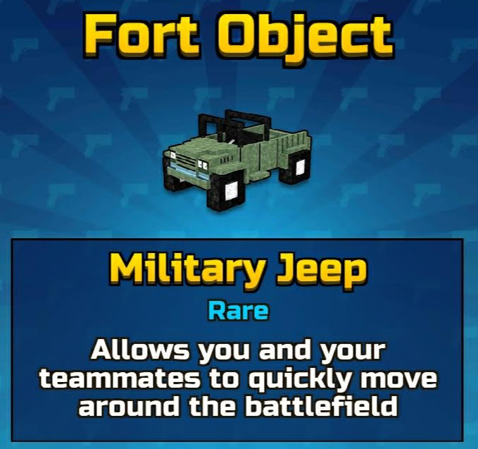 Military Jeep (Fort Object)