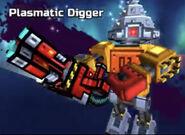 Plasmatic digger