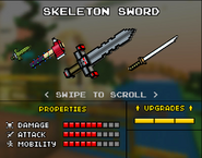 Skeleton Sword