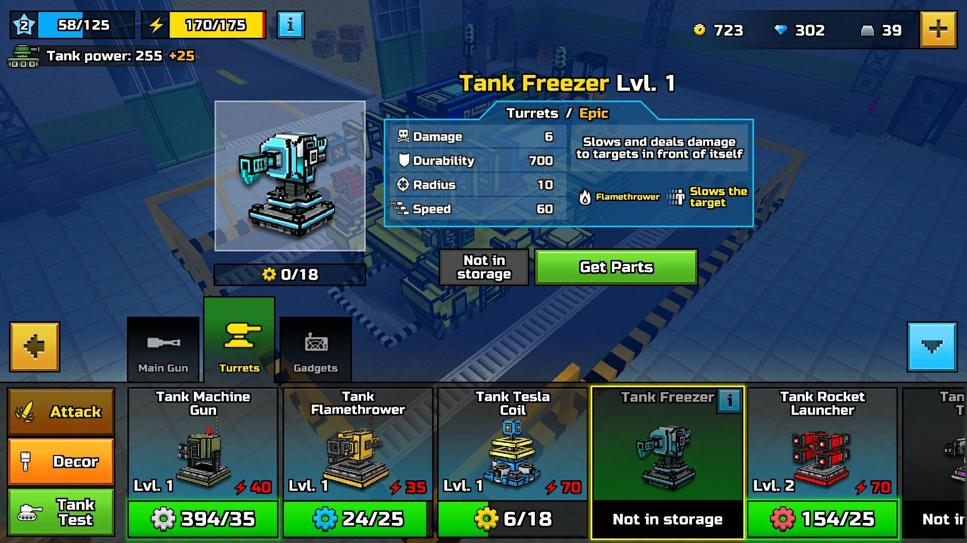 Tank Freezer