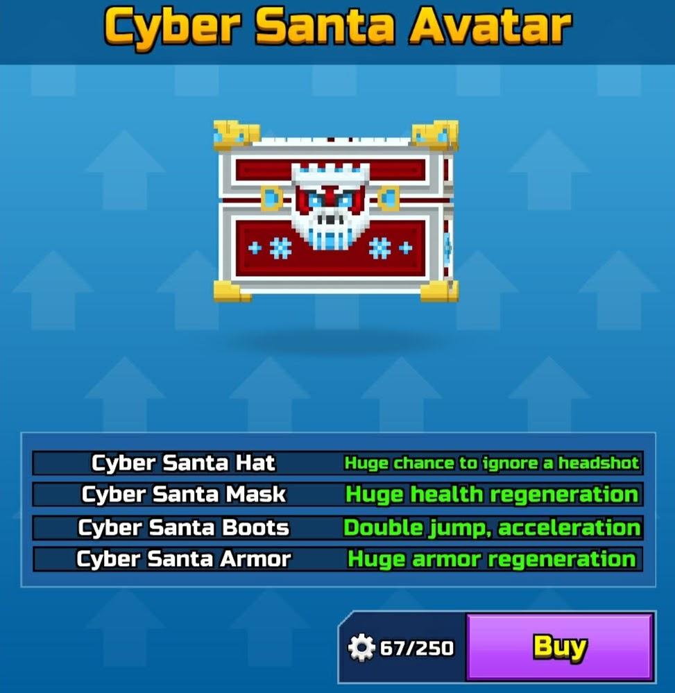 Cyber Santa Avatar