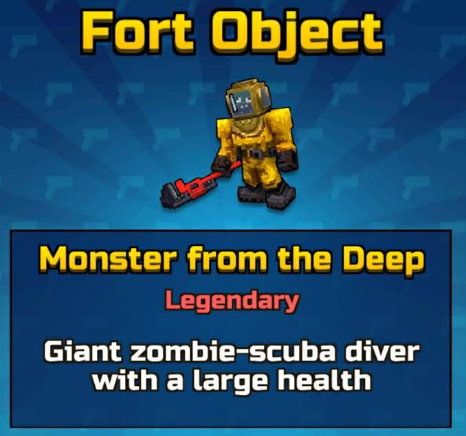 Monster from the Deep (Fort Object)