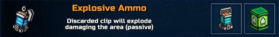 Explosive Ammo