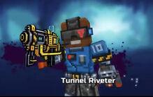 Tunnel riveter