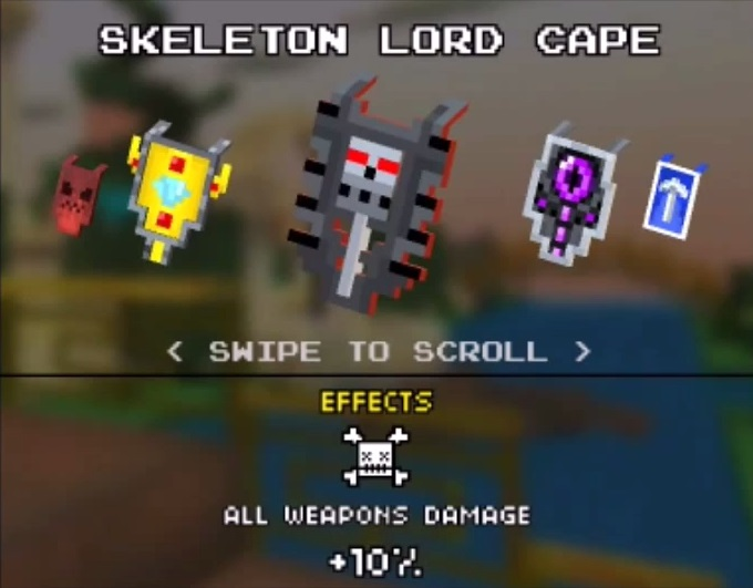 Skeleton Lord Cape