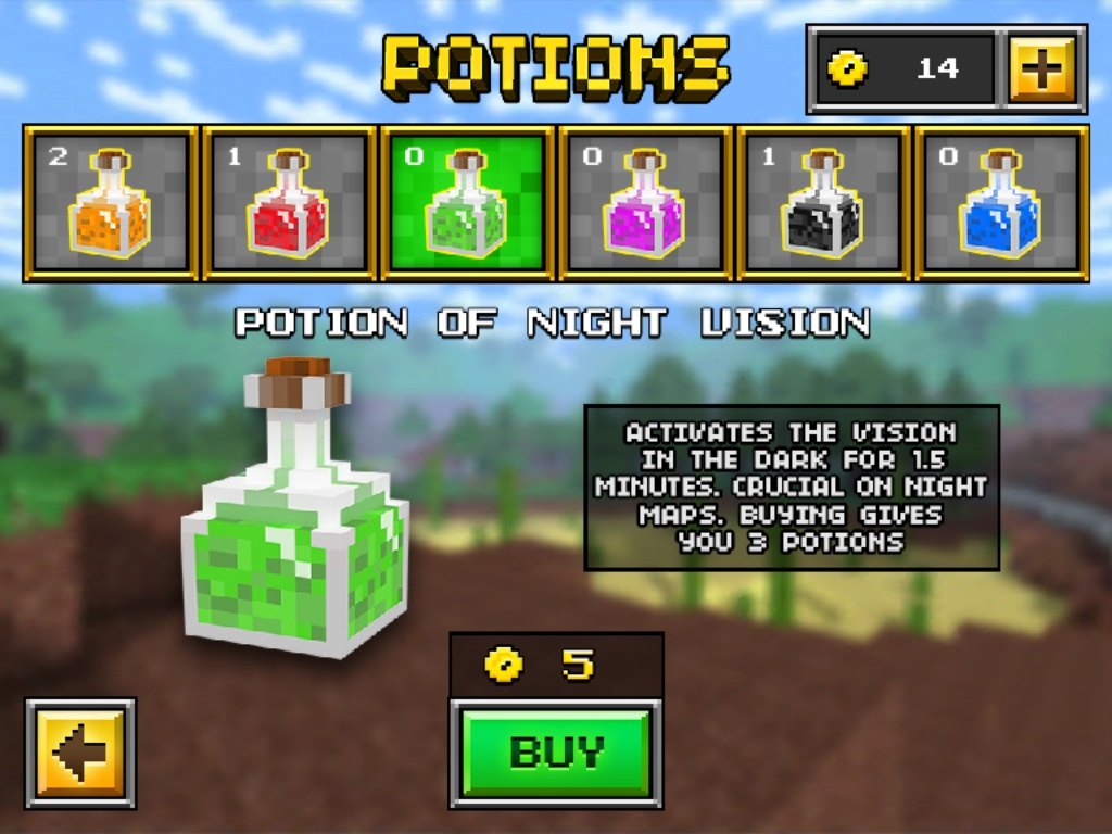 Potion of Night Vision