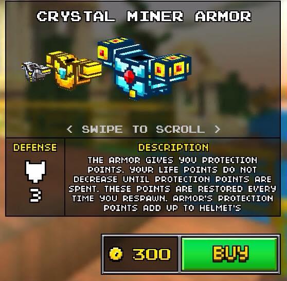 Crystal Miner Armor