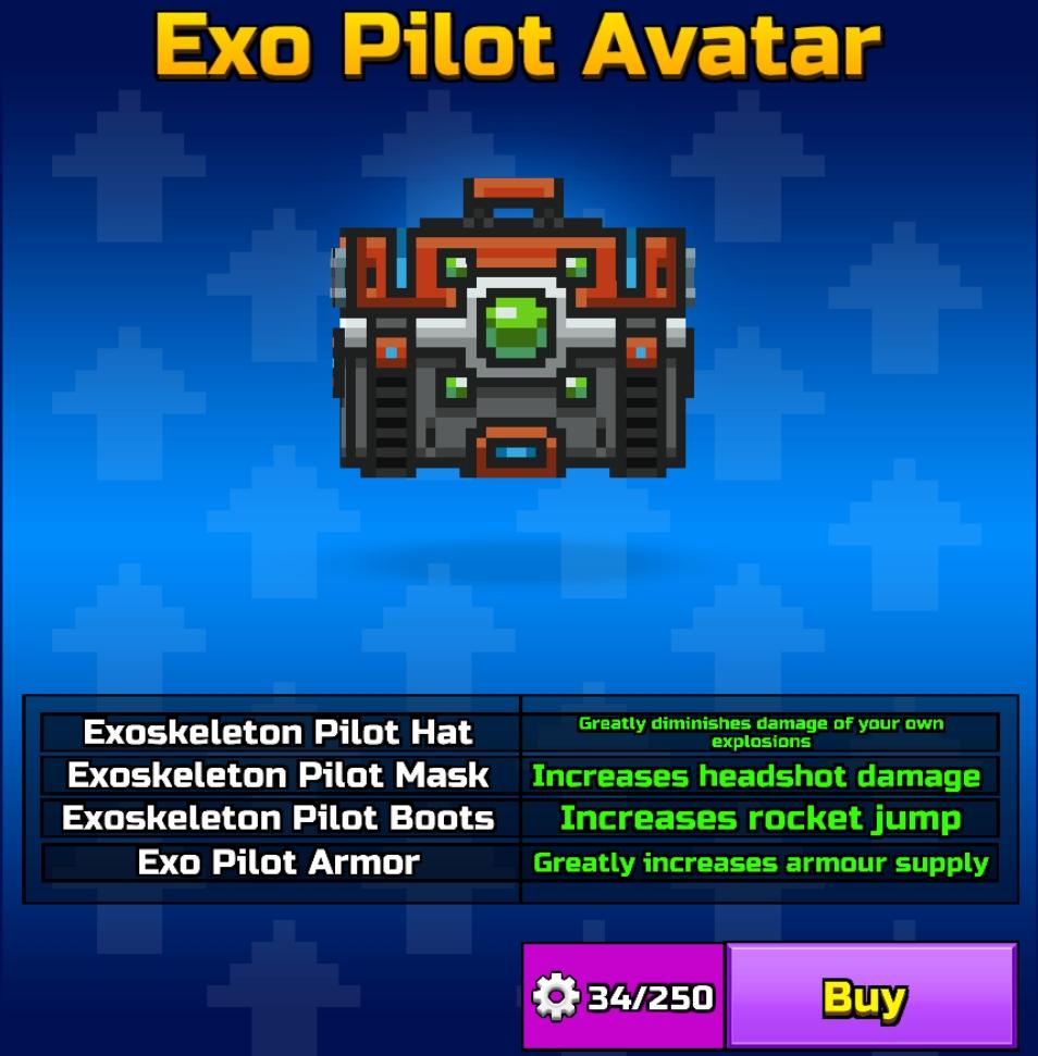 Exo Pilot Avatar