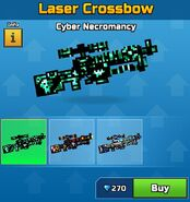 Cyber Necromancy Laser Crossbow Old