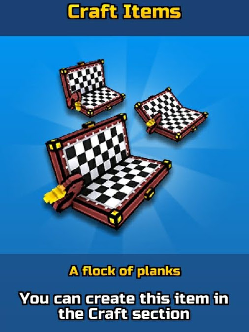 A Flock of Planks