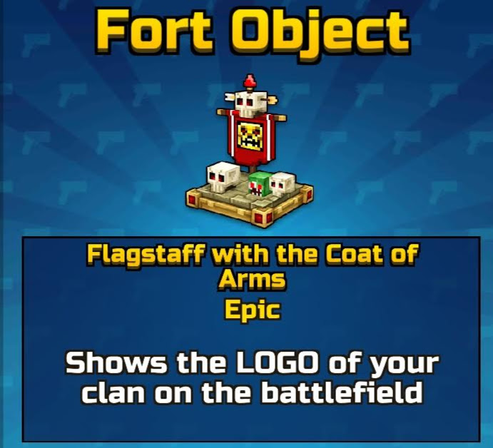 Flagstaff with the Coat of Arms