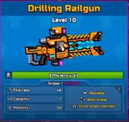 Drillingrailgun