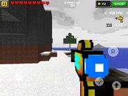 Alien Gun in Winter Island