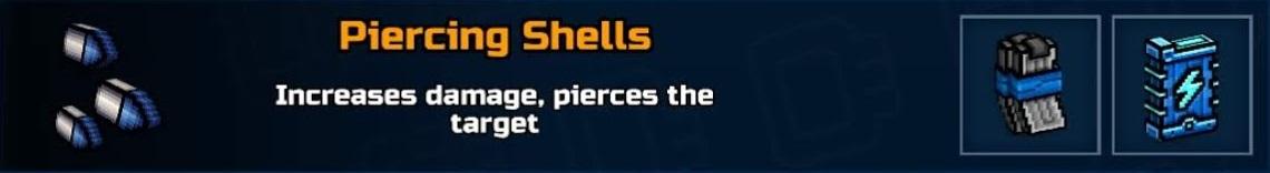Piercing Shells