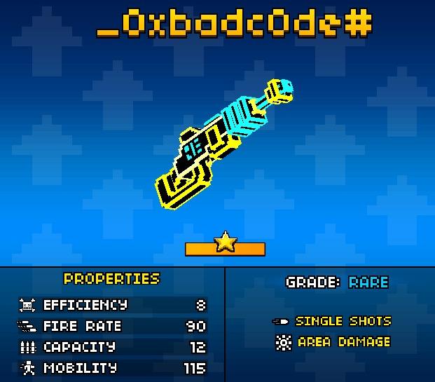 The correct ways to use 0XBADCODE