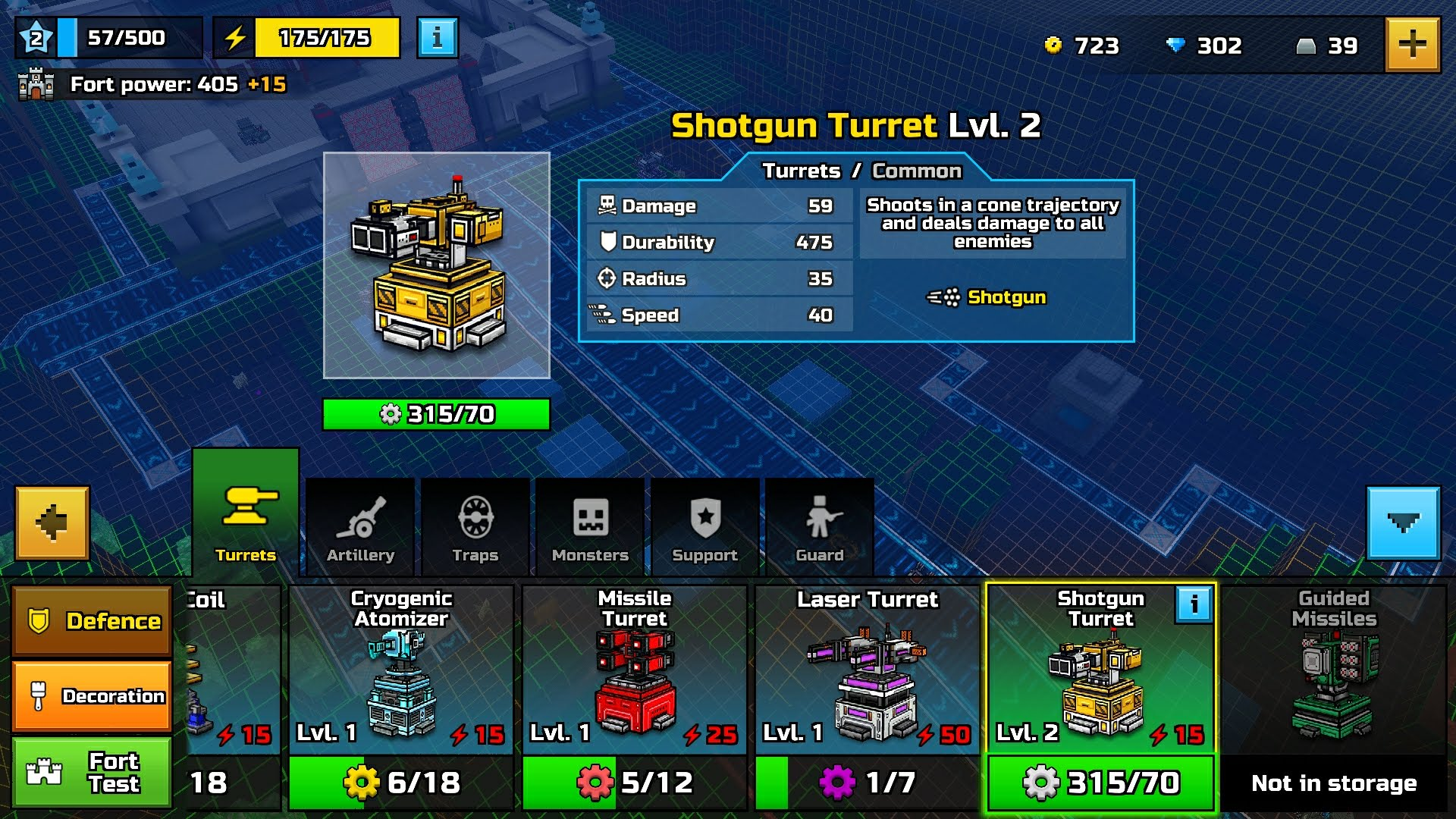 Shotgun Turret