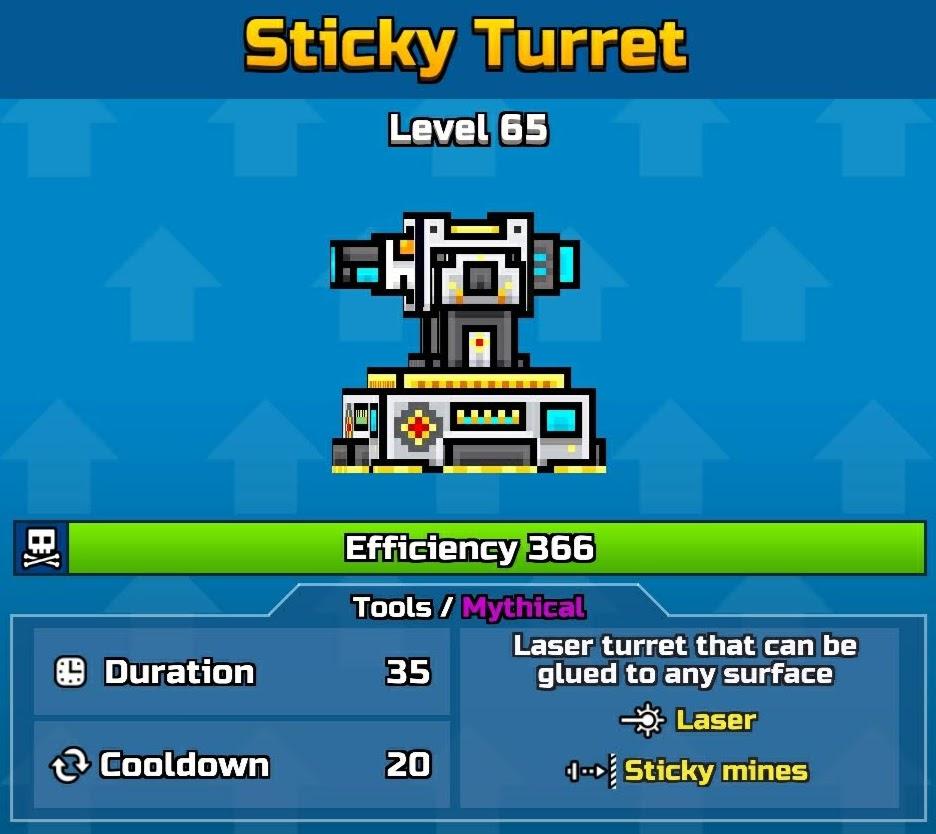 Sticky Turret