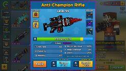 Anti-Champion Rifle in Armory