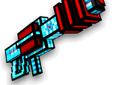 Crystal Laser Cannon