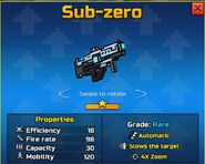 Sub-zero