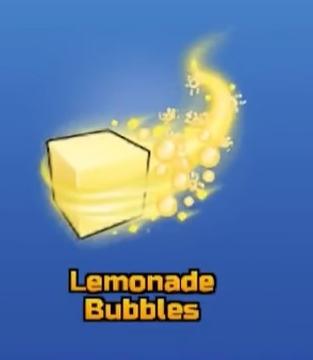 Lemonade Bubbles