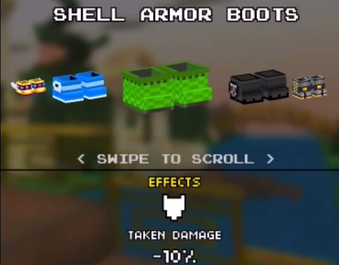 Shell Armor Boots