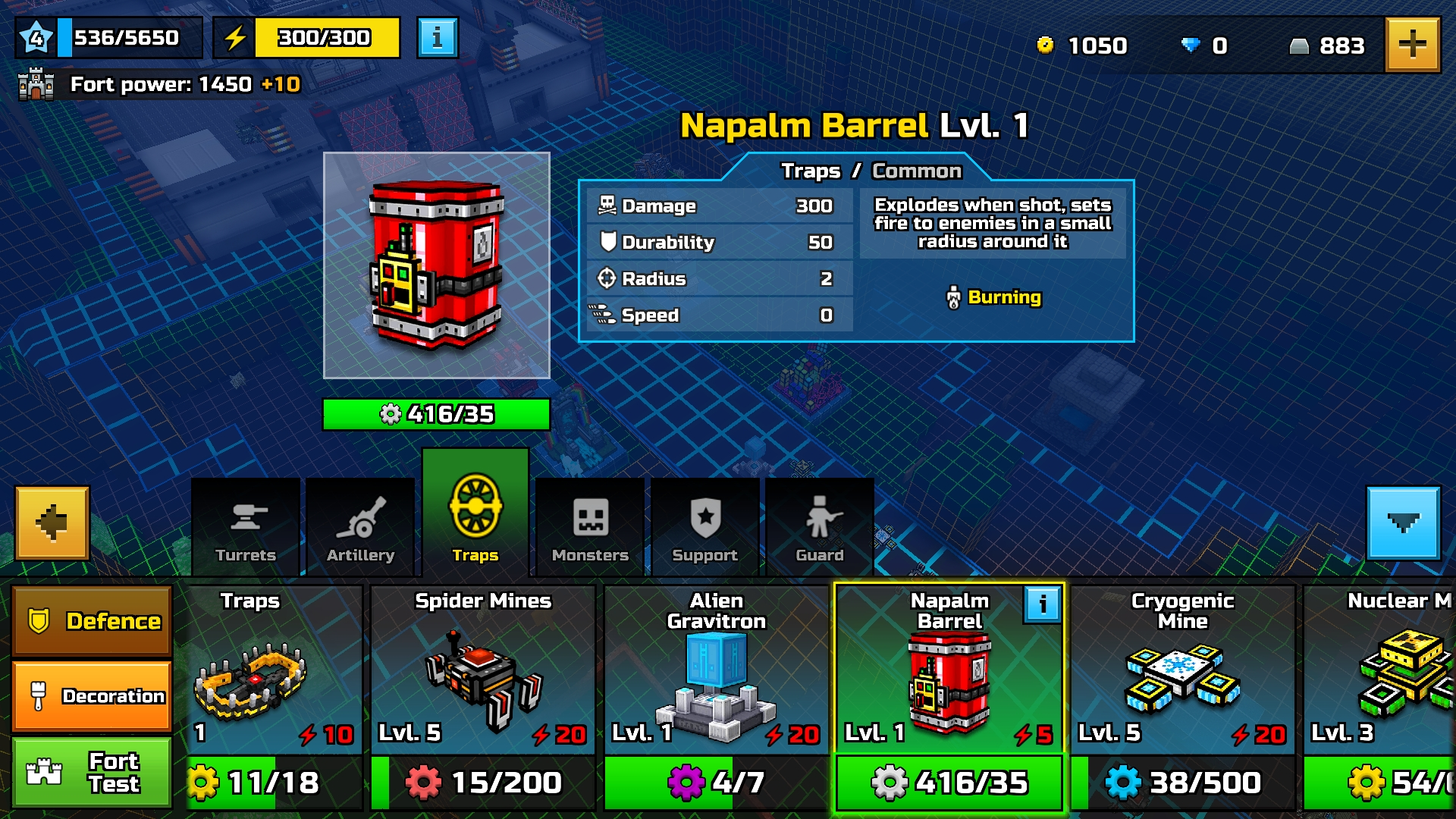 Napalm Barrel
