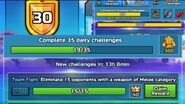 F2P*50 SUBS SPECIAL*200💎300📀Daily Challenges BP Credits When To Spend Level 15 ▶ Level 30