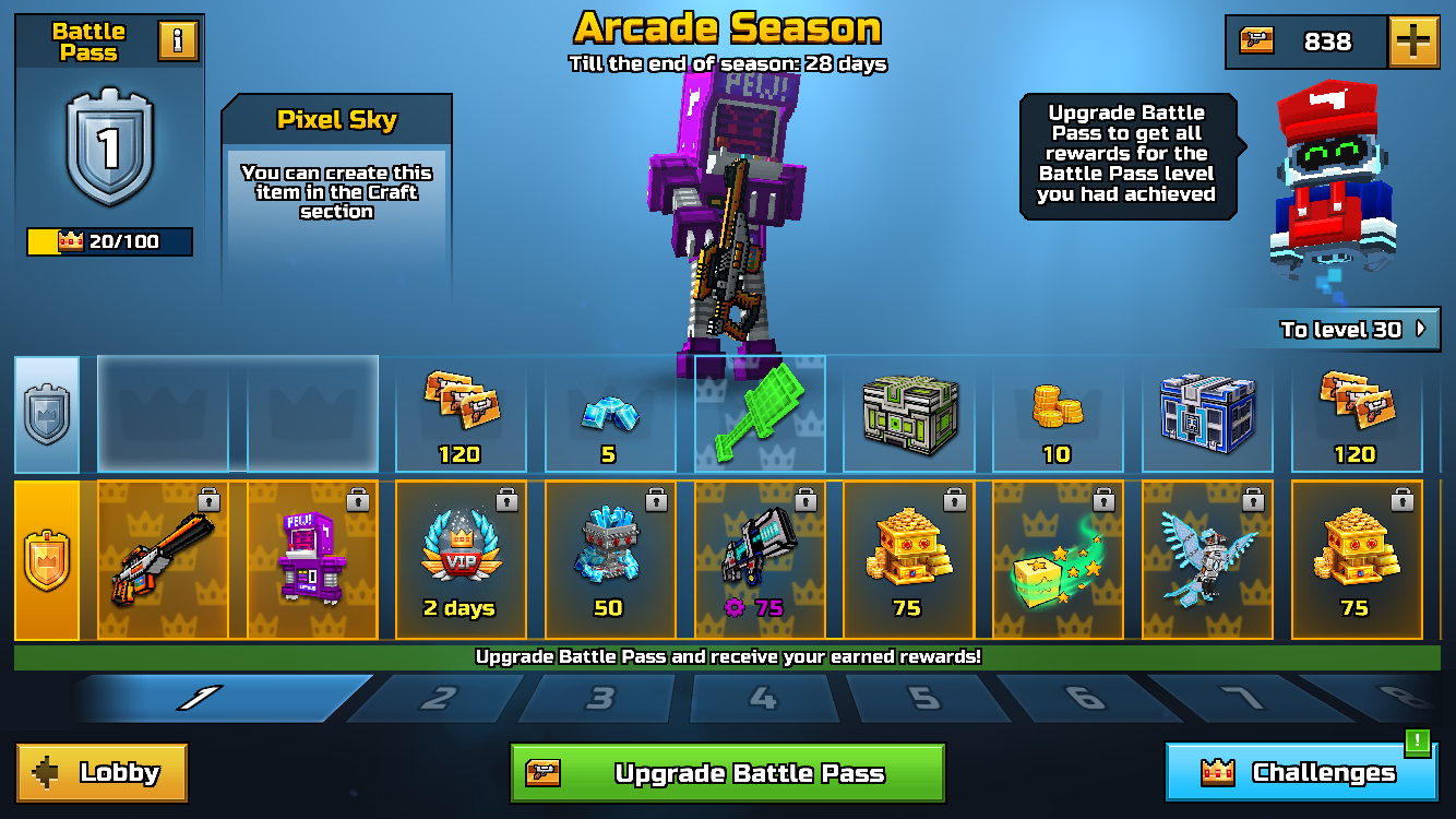 Arcade Season