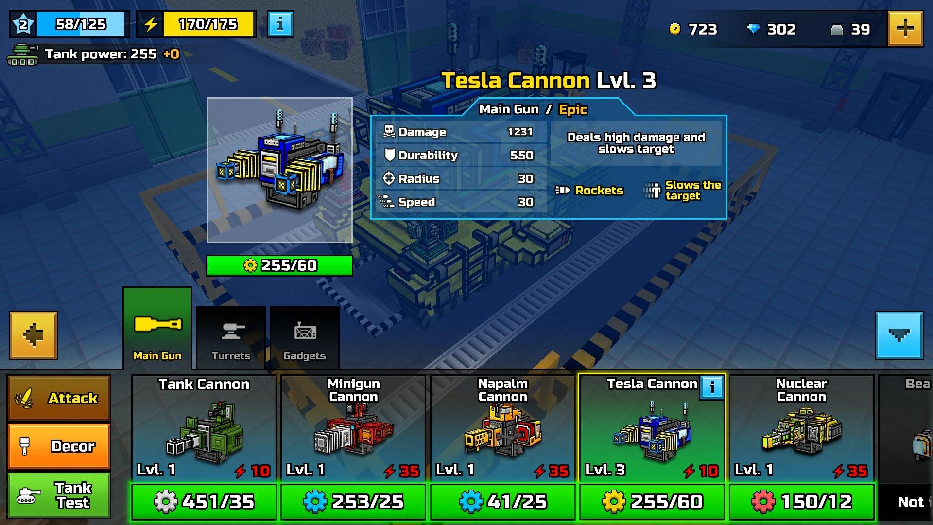 Tesla Cannon (Tank)