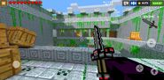 The Skeleton Sword in use.