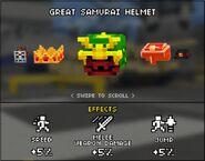 Great Samurai Helmet