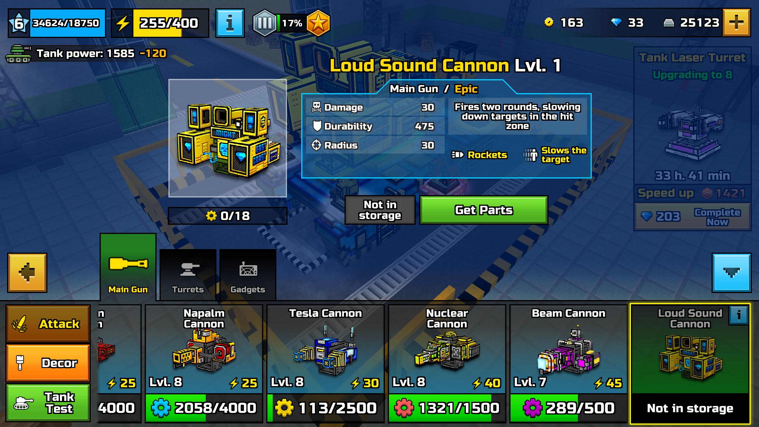 Loud Sound Cannon
