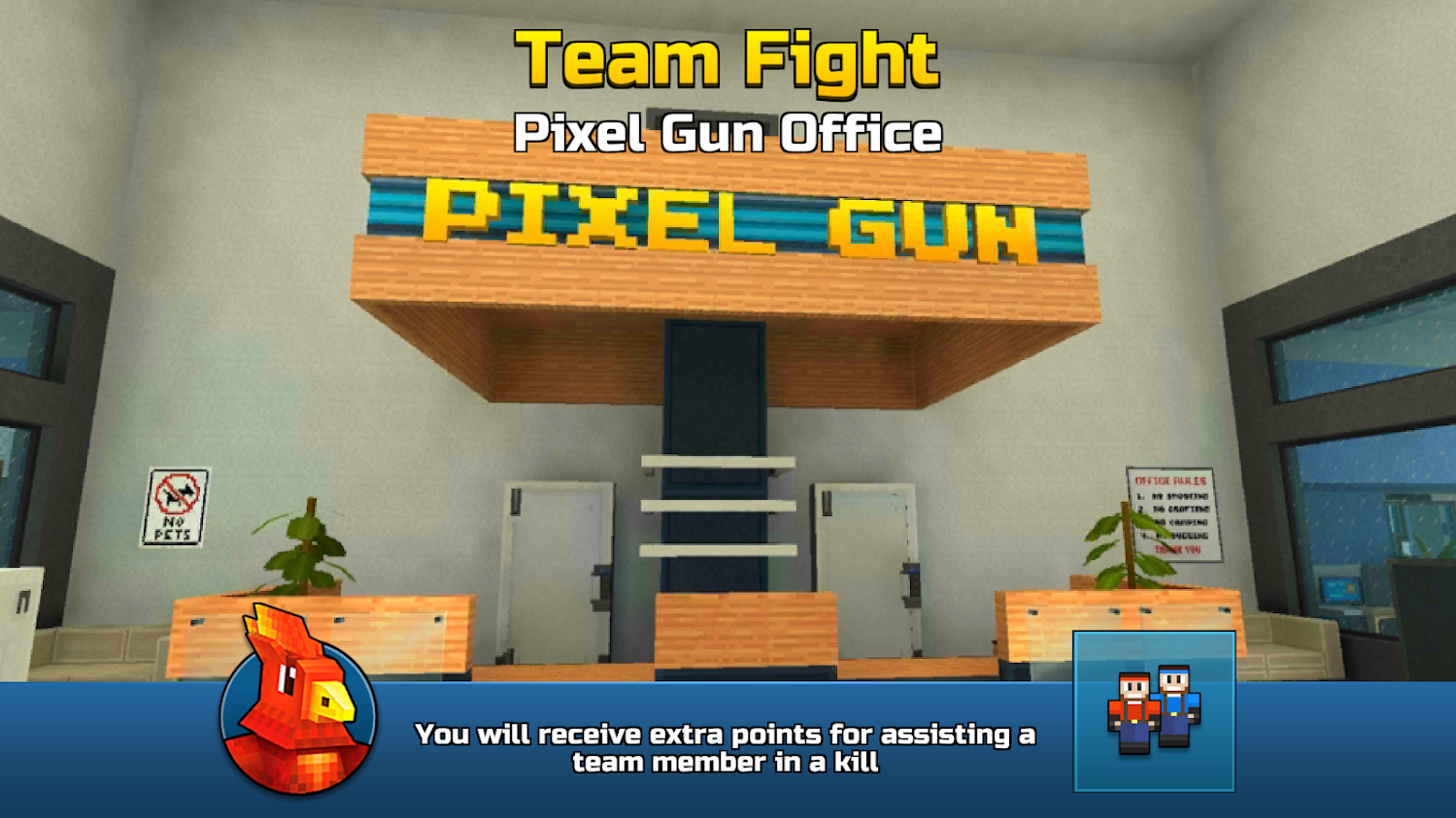 Pixel Gun Office