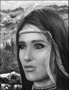 Native american woman by lberry1976-d53llmu