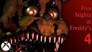 Five Nights at Freddy's 4 - Xbox One Trailer