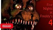 Five Nights at Freddy's 4 - Nintendo Switch