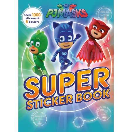 PJ Masks Super Sticker Book