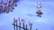 Motsuki conducting the singing moths