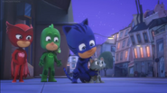 PJ Masks and Alley Cat