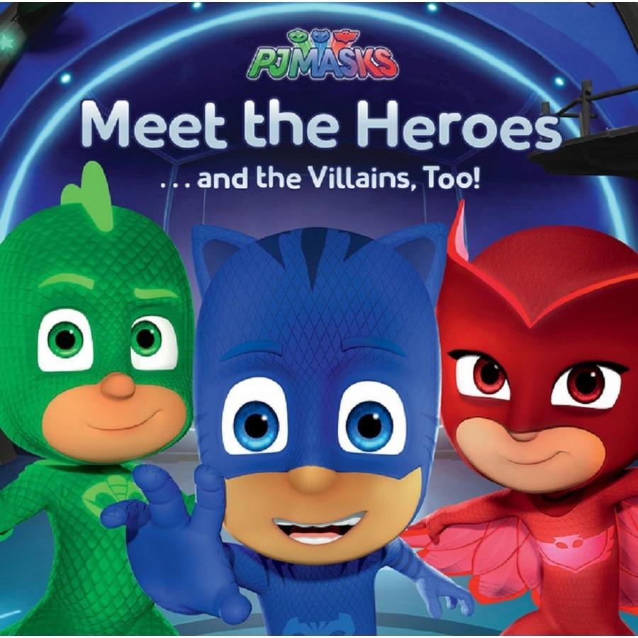 Meet the Heroes... and the Villains, Too! (Australia)