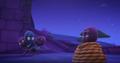 Ninjalinos carrying Night Ninja