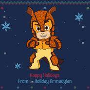 Armadylan's happy holiday