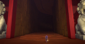 Teeny Weeny nervously steps into the cave