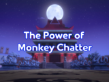 The Power of Monkey Chatter
