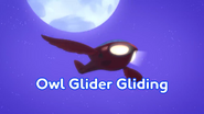 Owl-Glider Gliding